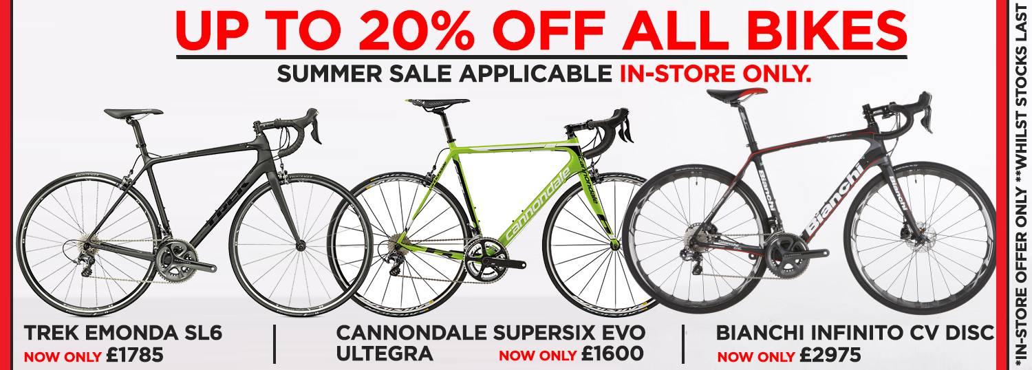 BikeandRun Summer Sale 2016
